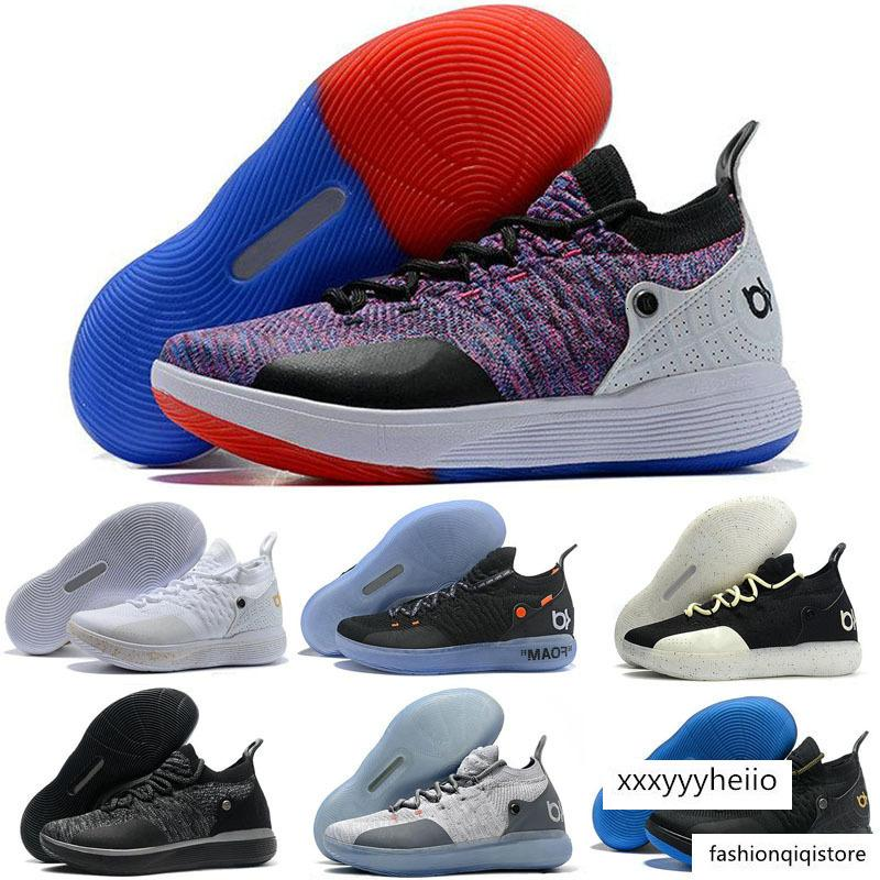 Pas cher KD 11 EP Elite Chaussures Casual KD 11s Men Multicolor Peach Jam Mens Doernbecher Kevin Durant 10 EYBL All-Star BHM Chaussures Casual