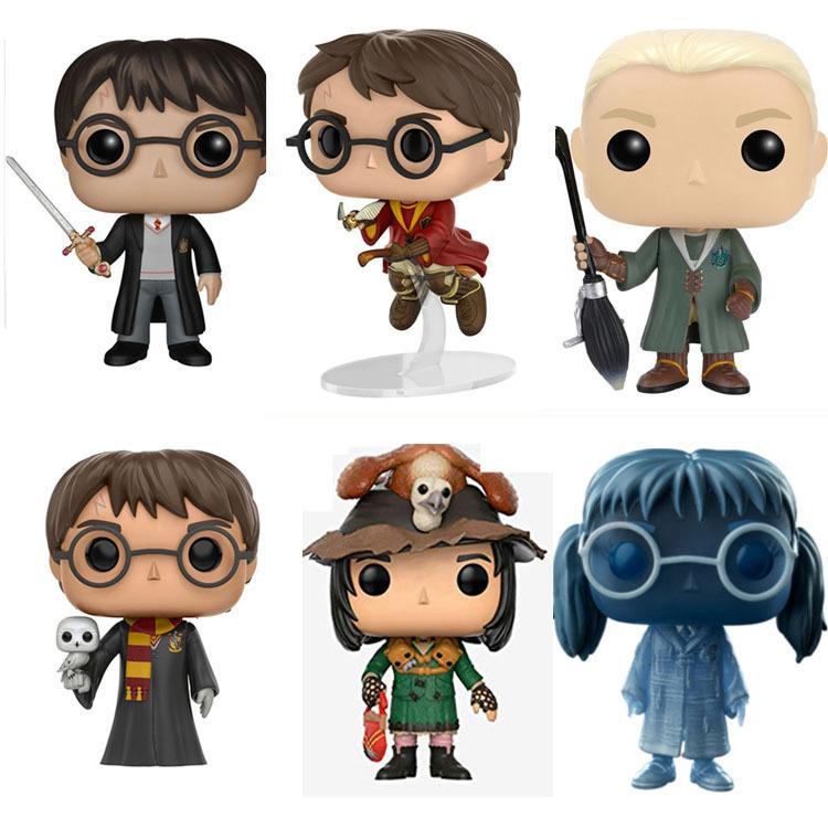 6 Style de FUNKO POP Harry Potter 09 # Poupée main Poupée Modèle PVC poupées cadeaux jouets