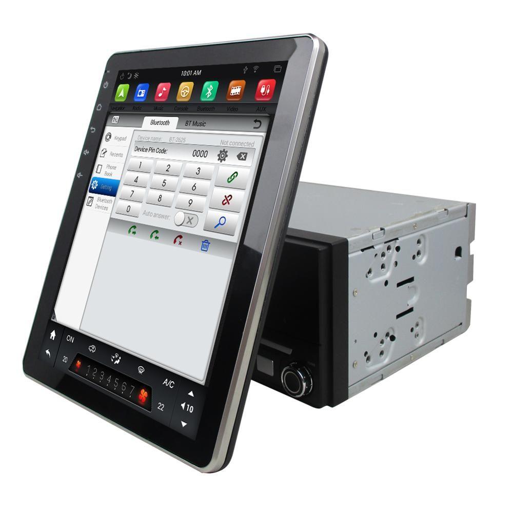 "IPS 테슬라 작풍 스크린 2 소음 9.7""PX6 6 핵심 안드로이드 9.0 보편적인 차 dvd 선수 RDS 라디오 GPS Bluetooth5.0 와이파이 거울 연결 Carplay"