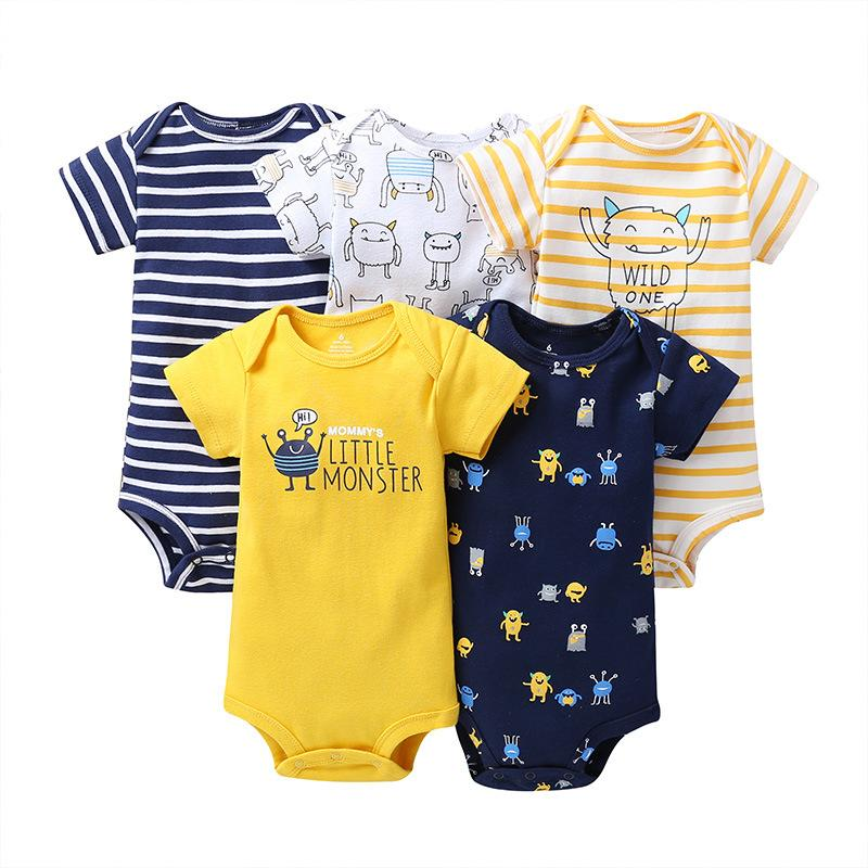 Christmas Mode On Cute Summer Baby Infant Girls /& Oys Short Sleeve Romper Jumpsuit Bodysuit Shirt