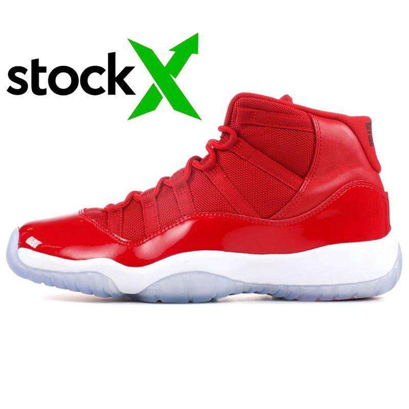 2020 New Bred 11 S vaste Gris Métallique Argent Femmes Hommes de basket-ball chaussures Jumpman gagner lien 96 Concord 11 Gamma Bleu Hommes Formateurs sneakers