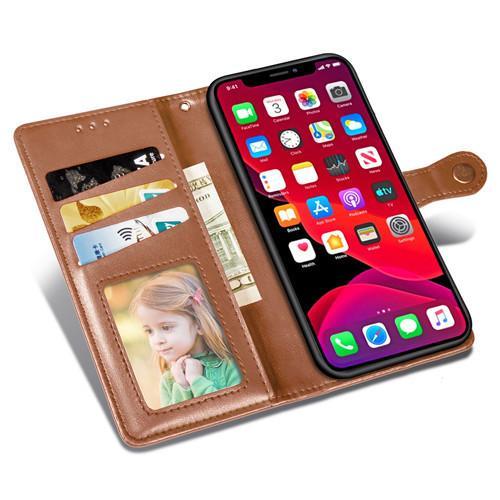 5colors pour iPhone 11 11Pro 11Pro Max XS XS Max XR X 8 7 6 plus de cas multi-fonction batterie boîtier flip Housse en cuir Livraison gratuite