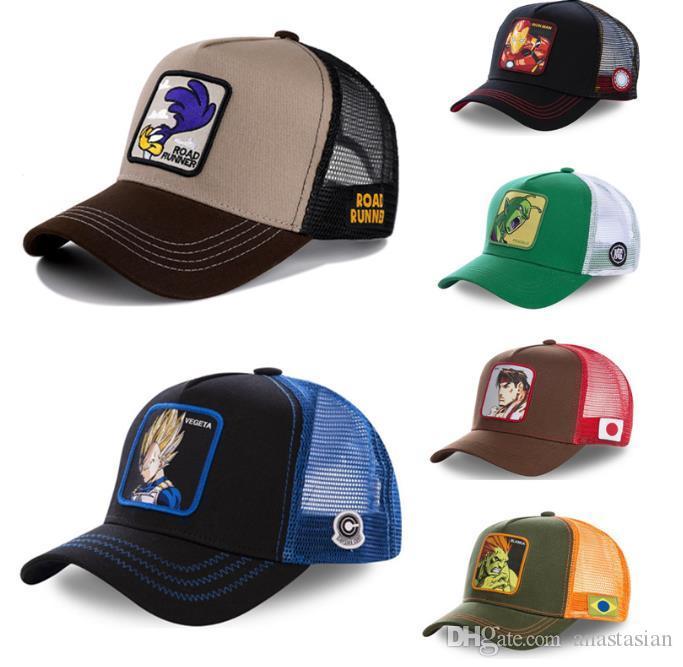 Tappo di snapback Cappellino da baseball Berretto da baseball da donna Hip Hop Papà Maglia cappello camionista Dropshipping