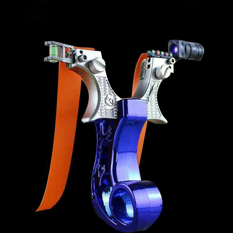 GZK BIANCO OTT Fionda//Catapulta 0.66 bande di caccia 100/% Custodia di taglio laser * Nuovo