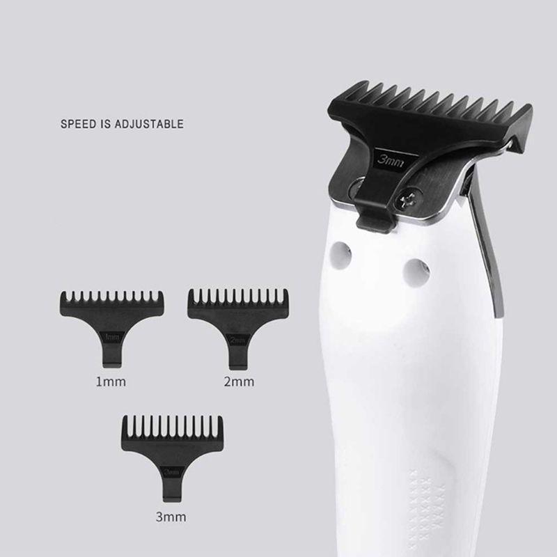 rkMiv bwkf elektrikli saç kesme makinesi saç kesimi jilet edger kesici erkekler için profesyonel berber saç düzeltici maquina de barbear