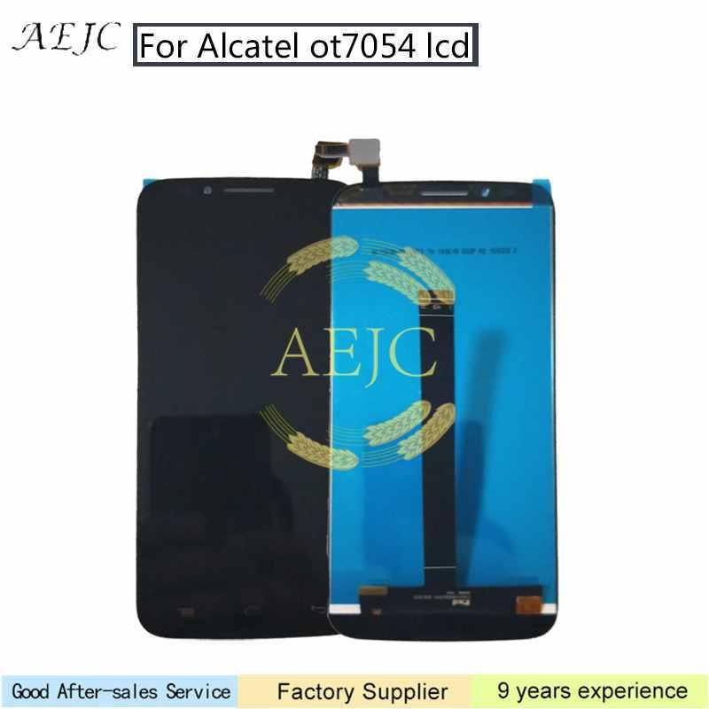 For Alcatel One Touch Flash Plus OT7054 7054T OT7054T LCD Display Touch Screen Digitizer Assembly with Free Tools 5.5''