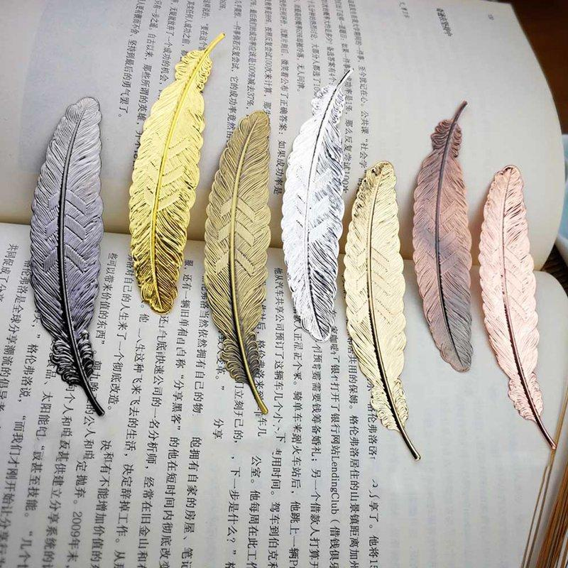 DIY Cute Kawaii Black Butterfly Feather Metal Bookmark for Book Paper Creative Items Lovely Korean Stationery Gift DLH422