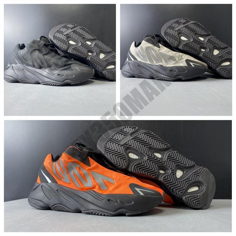 2020 700 MNVN Osso Preto Laranja Kanye West Runner Men Sneakers Kanye West Sports Shoes Men Running Shoes Man Luz FV3258 FV4440 FY3729