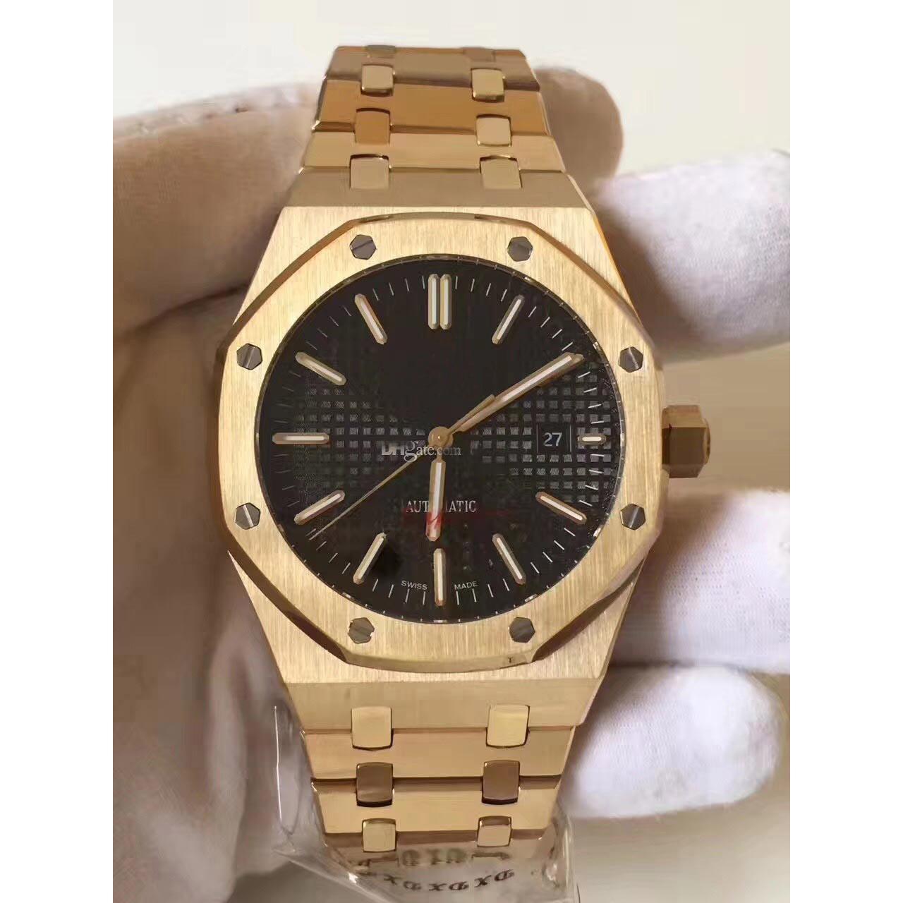 Hommes en gros montres mécaniques automatiques modèle montre de sport en acier inoxydable montre-bracelet étanche à 30 mètres