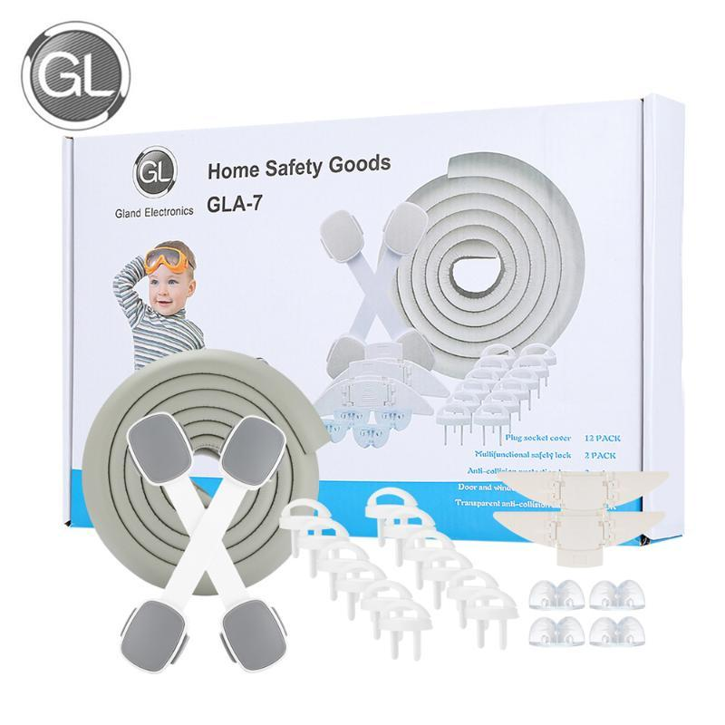 2M Baby Safety Bumper Strip Table Guard protection Baby Corner Bumper Anti-colli