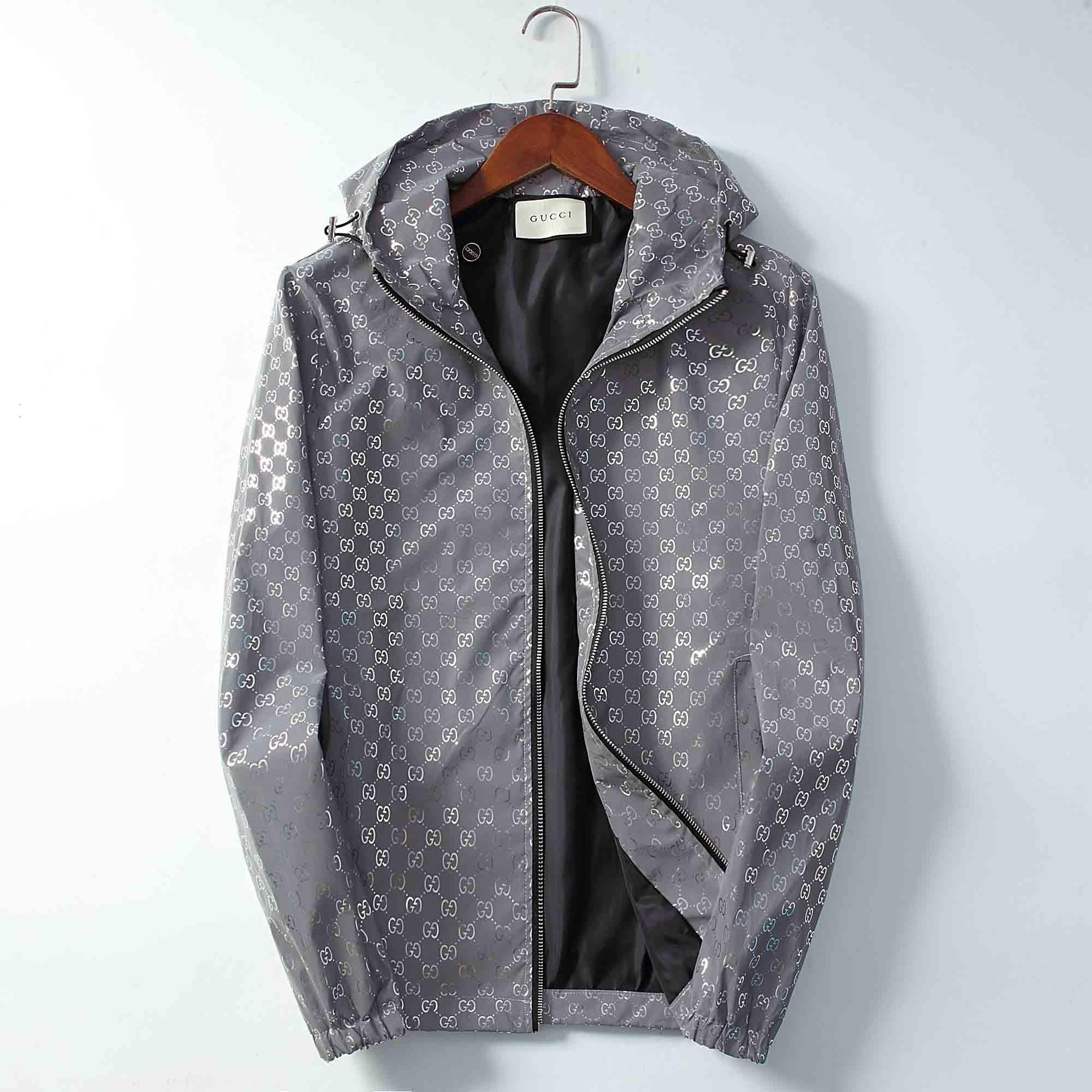 Lüks Erkek Tasarımcı ceketler Moda Sıcak ceketler Palto Hip Hop Spor Windproof Uzun Kollu Rüzgarlık Ceket Fermuarlar Erkekler Ceketler