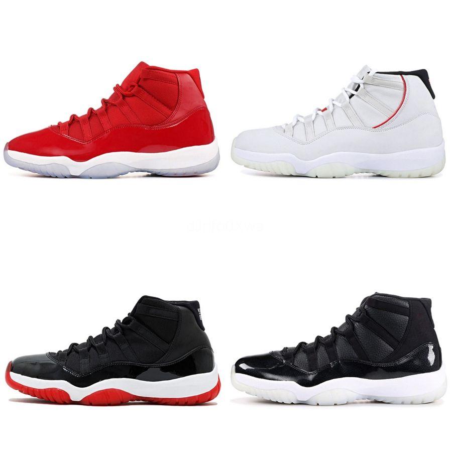 2020 Top Og Hommes Jumpman 11S Chaussures de basket Obsidian sans Peur Unc Top 3 Spiderman Not For Resale Ombre Phantom sans Peur Sport Sneake # 519