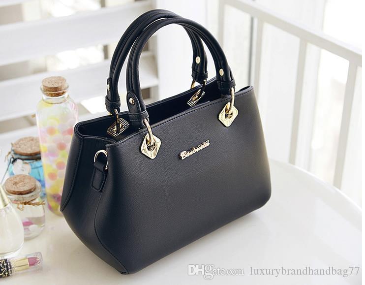 Bayan 2019 ilkbahar ve yaz yeni kadın çantası basit moda çanta trendi tek omuz diyagonal paketinin Kore versiyonu