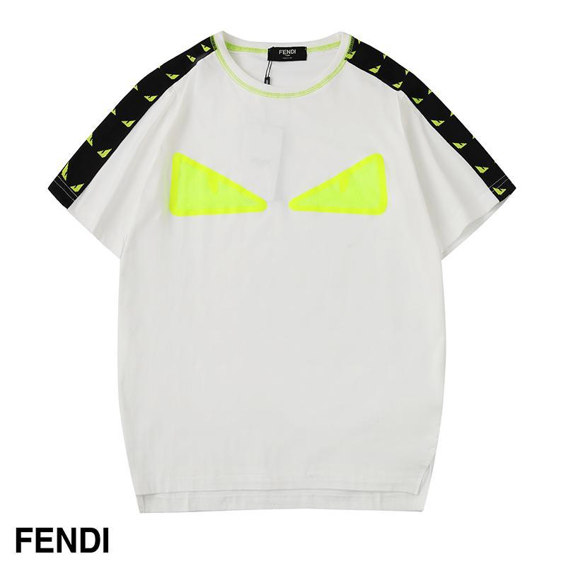 2019 Spring New Arrival Hot Sale Mode Femmes Hommes T-shirt de haute qualité Livraison gratuite été SpringWomen hommes T-shirt noir B103933Y Casual