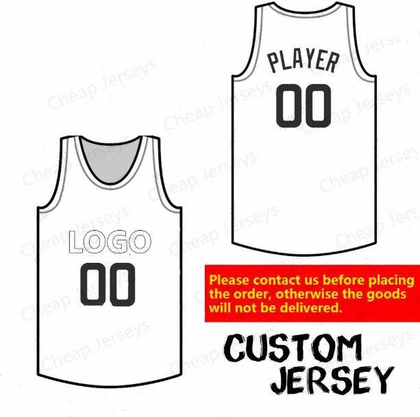 Пользовательский баскетбол Джерси Любой команды все игроки любое количество высокого качество персонализированное трикотажные изделия швов размера S-5XL