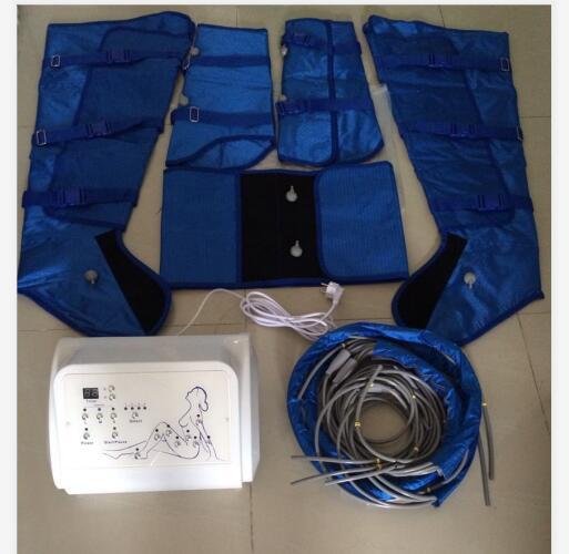 disintossicazione presoterapia portatile pressione dell'aria sottile attrezzature tuta del piedino di massaggio pressione dell'aria corpo snellente in vendita