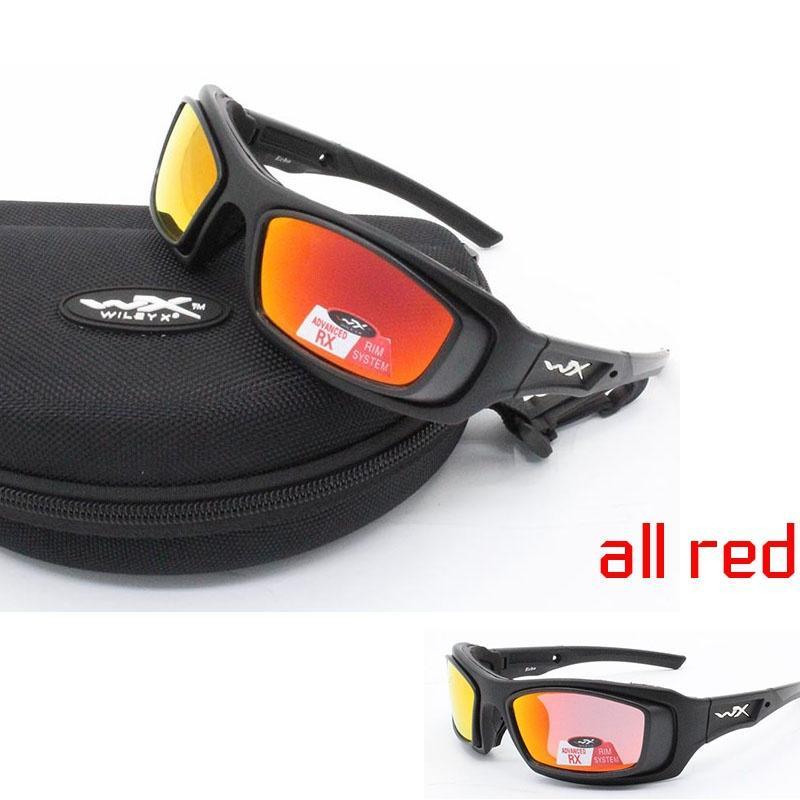 Neue Mode Polarisierte Radfahren Wiley X Sonnenbrille Mountainbike Goggles 4 Objektiv Radfahren Eyewear Fahrrad Sonnenbrille Radfahren Gläser