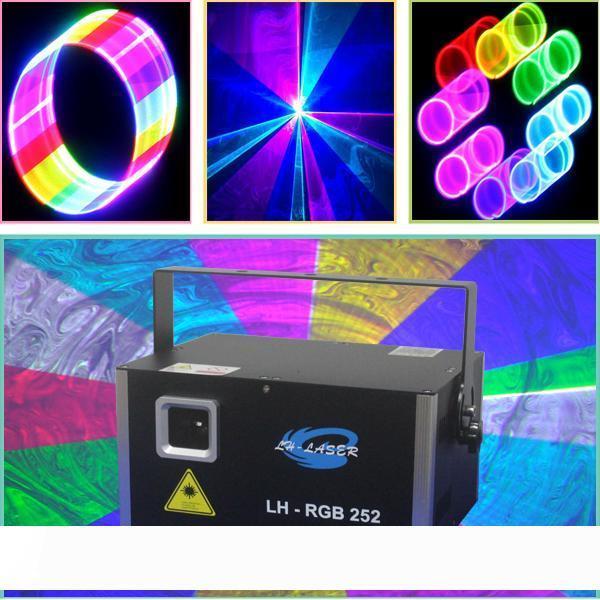 3000mW Piccolo professionale effetto fase di illuminazione con display LCD, scheda SD sistema di esposizione del laser con interfaccia PC ILDA