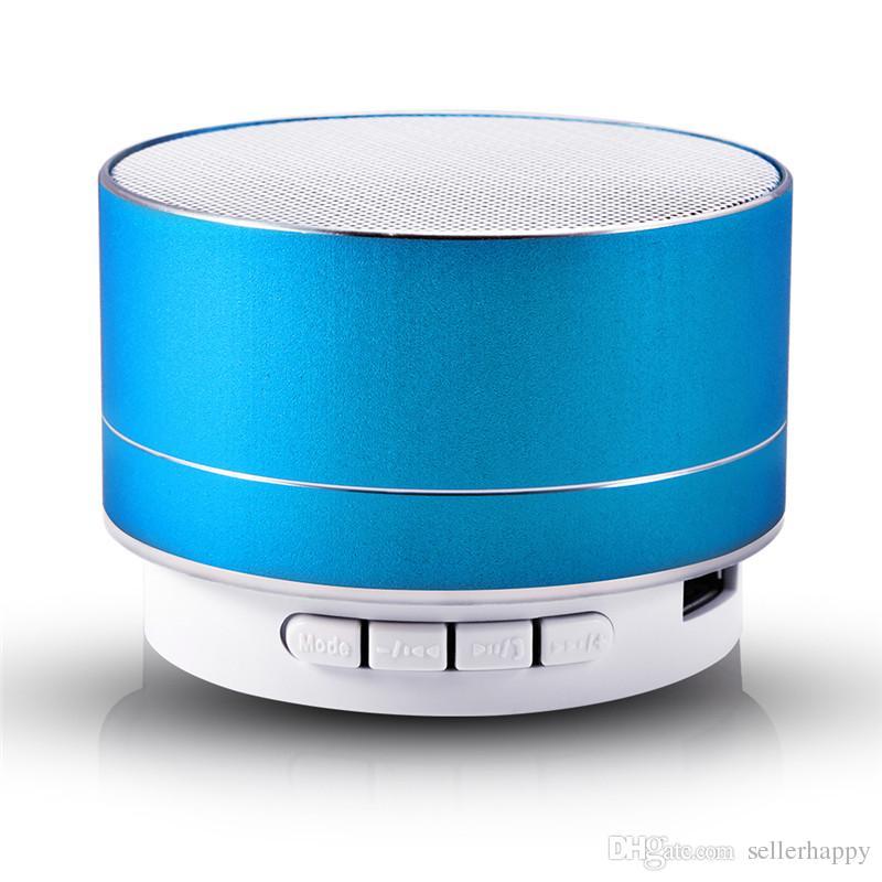 Mini Lautsprecher Super Bass Bluetooth Lautsprecher Stereo Musik Subwoofer Tragbarer LED Lautsprecher Freisprechen Anruf FM TF Karte Line-in DHL