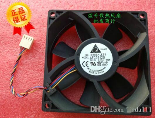 Le ventilateur de refroidissement 9CM 4 fils PWM contrôlé par la vitesse 9025 AFC0912D DC12V 0.412A