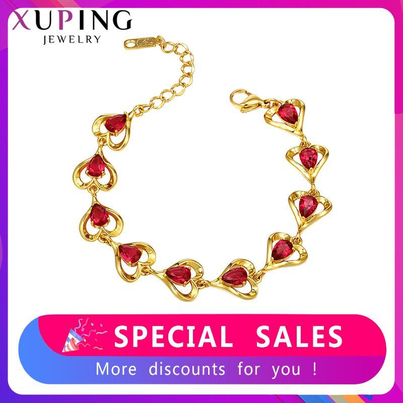 Xuping ювелирные изделия новые браслеты для женщин элегантный день рождения персонализированные модные подарки SS6. 7 / SS6. 8 / SS6. 9-77170