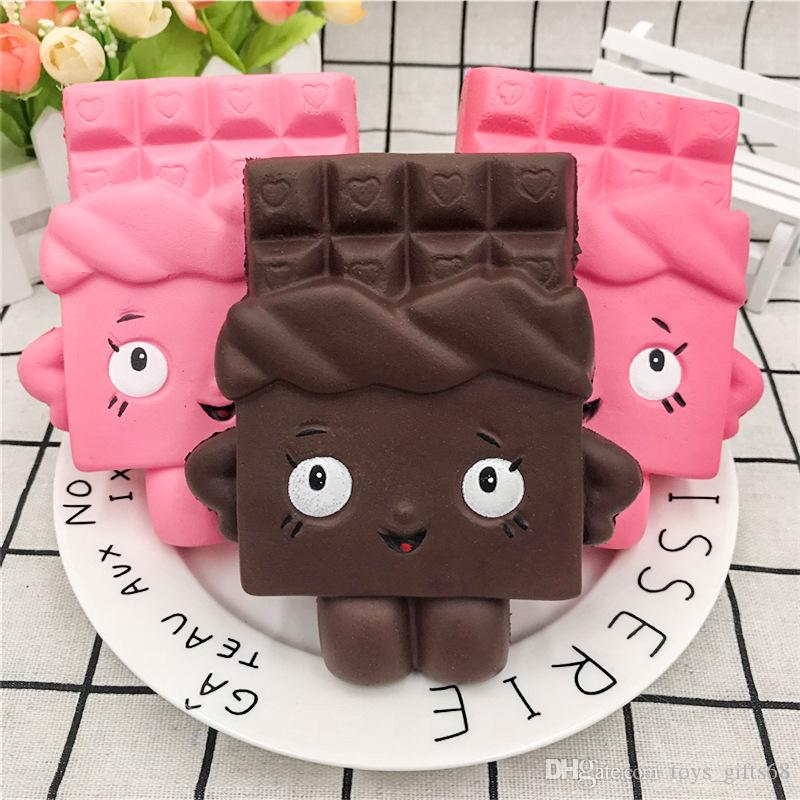 Cross-border special supply Super slow rebound pu simulation chocolate people squishy foreign trade hot decompression vent toys