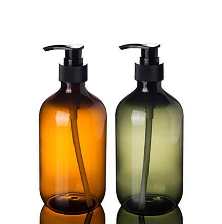 Alimentador del jabón líquido Limpiador Facial Organizar botella de champú y gel de ducha Loción de almacenamiento botellas de 500 ml de espuma dispensador de jabón