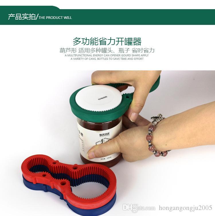 a forma di zucca Multi Uso bottiglia può Opener Opener Cap vaso apribottiglie Coperchio Grip Wrench Accessori Cucina IC548