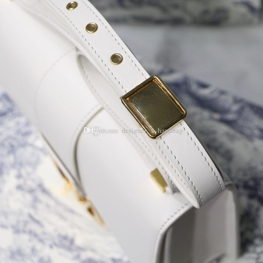 2019 حقائب الكتف الكلاسيكية الكلاسيكية ثلاثي الأبعاد تنقش إلكتروني حقيبة يد الأزياء صدفي حقيبة القفل الذهبي قطري