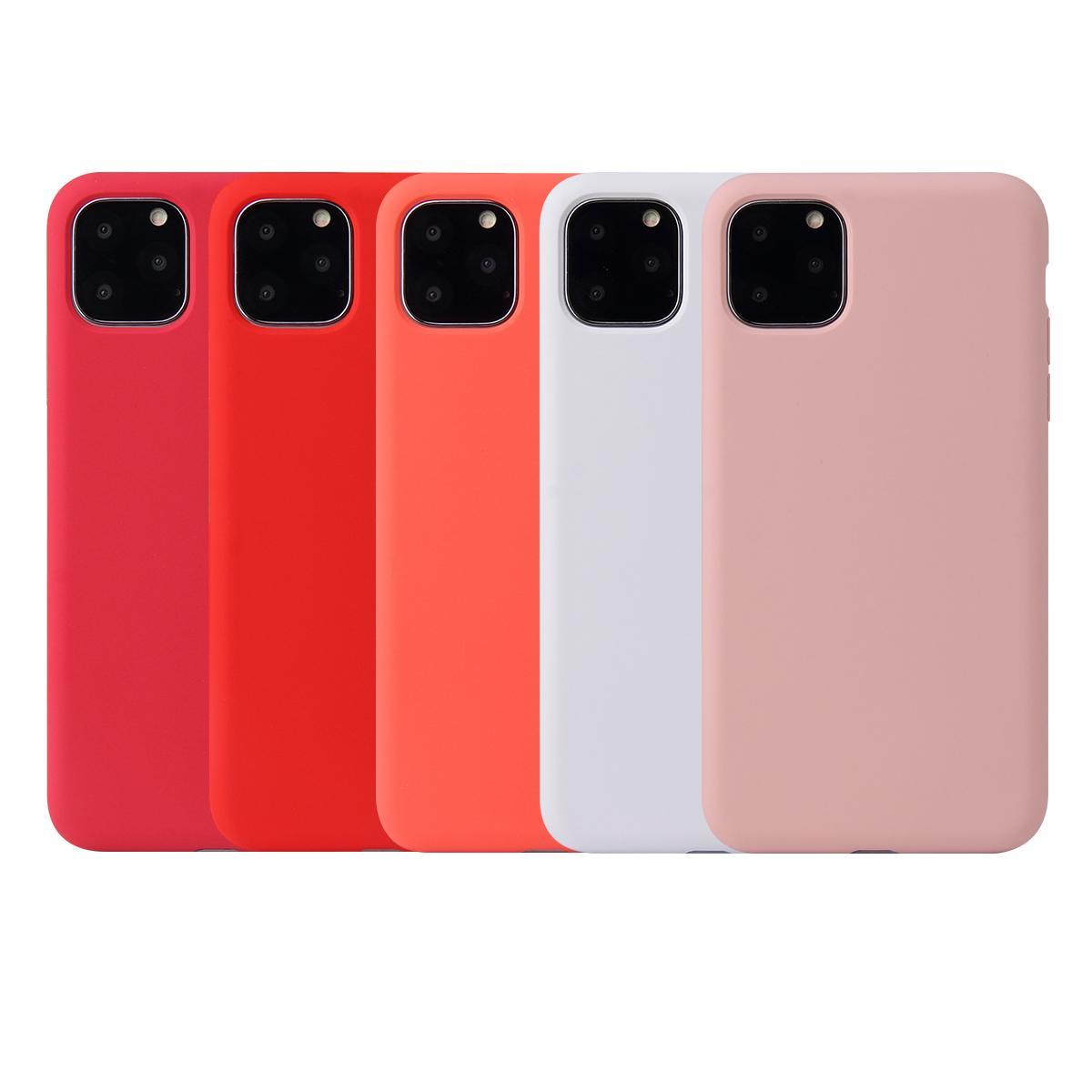 Per 2019 NUOVO Iphone 11 XR XS MAX X Custodia Custodia in silicone liquido resistente agli urti Custodia protettiva in silicone per iPhone