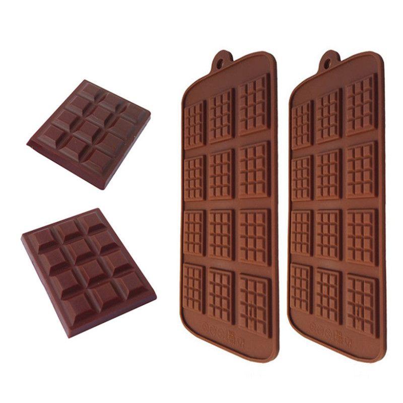 DIY قالب الشوكولاته سيليكون غير عصا الشوكولاته رقاقة قالب الحلوى الهراء أقراص سكرية قوالب DIY كاندي قوالب مكملات مطابخ الخبز