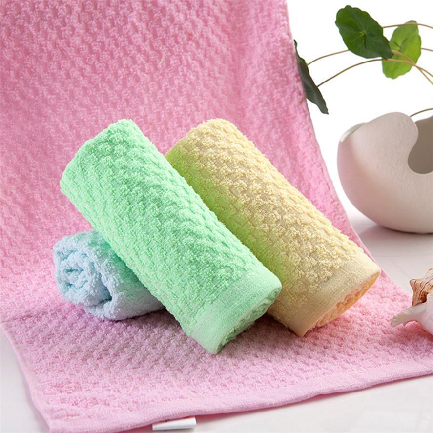 Nouveau doux serviette de bain 32x72 cm 1 PC Accueil Cuisine Serviette Super Absorbant chiffon propre évier essuyer Corail Polaire serviettes de bain 30