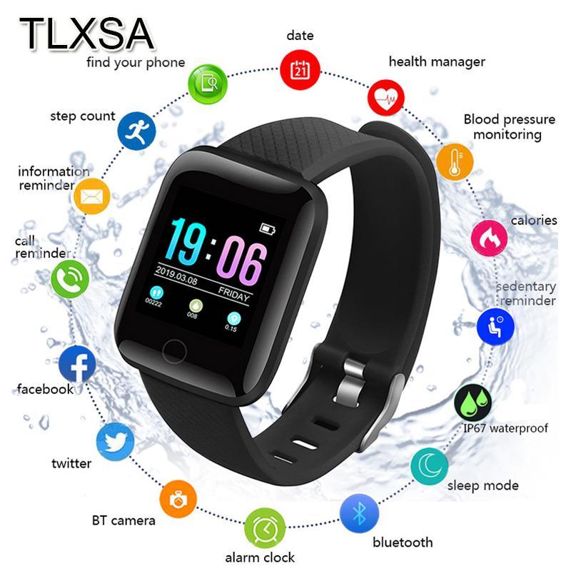 Bluetooth intelligente Guarda Sport Contapassi capretto dei bambini Toy Watch sonno Monitor impermeabile Men Watch Fitness Sport Orologi D13 per Android Ios