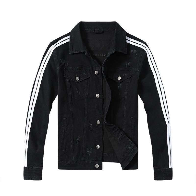 Marka Moda Suç Ceket Tasarımcı Olağanüstü Rozet Denim Ceket Gevşek Casual Erkekler ve Kadınlar Denim Ceket Ücretsiz Teslimat # X2