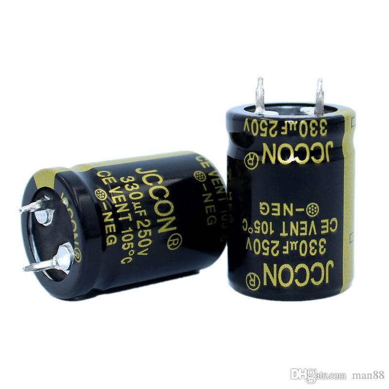 JCCON Thick-foot electrolytic capacitor 250v330uf volume 22x30 Inverter power