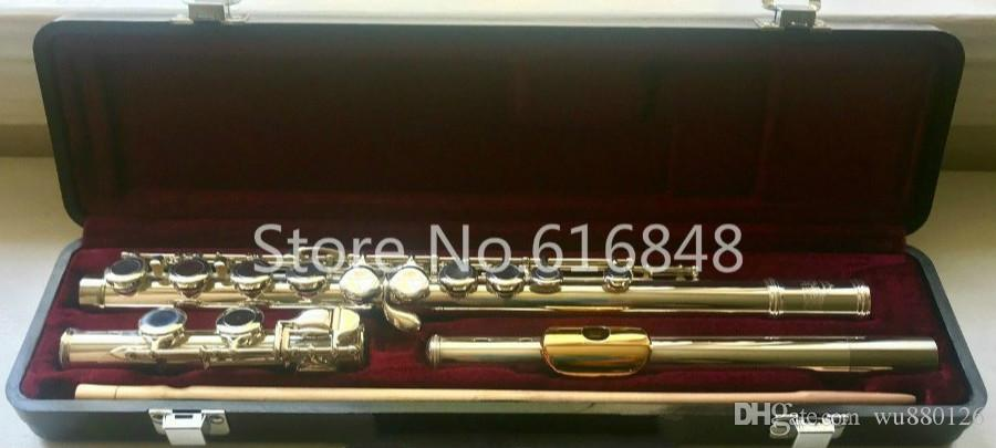 Jupiter Capital Edition Model CEF-510 High Quality Cupronickel Silver Plated C Tune Flute 16 Holes Closed Concert Flute Musical Instrument