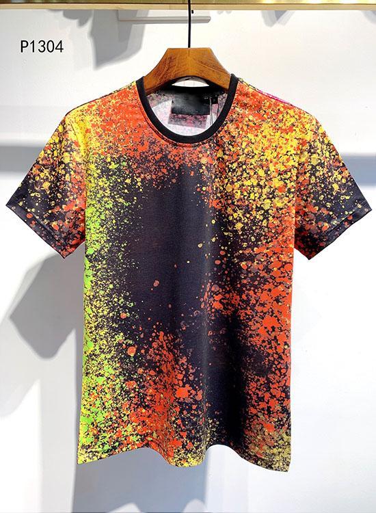 Tasarımcı tişört 19ss Moda kısa kollu siyah hip hop tee mens kafatası gömlek Yüksek Kaliteli Baskı mektup beyaz lüks giyim M-3XL başında