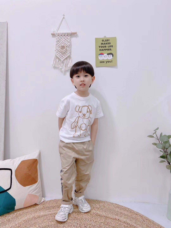 Estate fresca t-shirt bambino 2020 della maglietta nuova stampa di arrivo degli animali serbatoio in esecuzione manica corta bambini della camicia di T del capretto