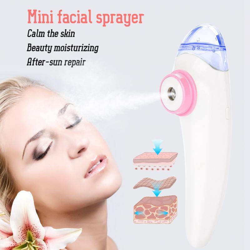 Dispositivo portátil para el cuidado de la piel hidratante hidratante hidratante facial con atomizador en niebla portátil.