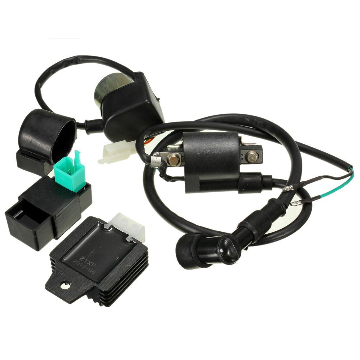 1 Set redresseur de régulateur de relais d/'allumage de CDI de moto pour