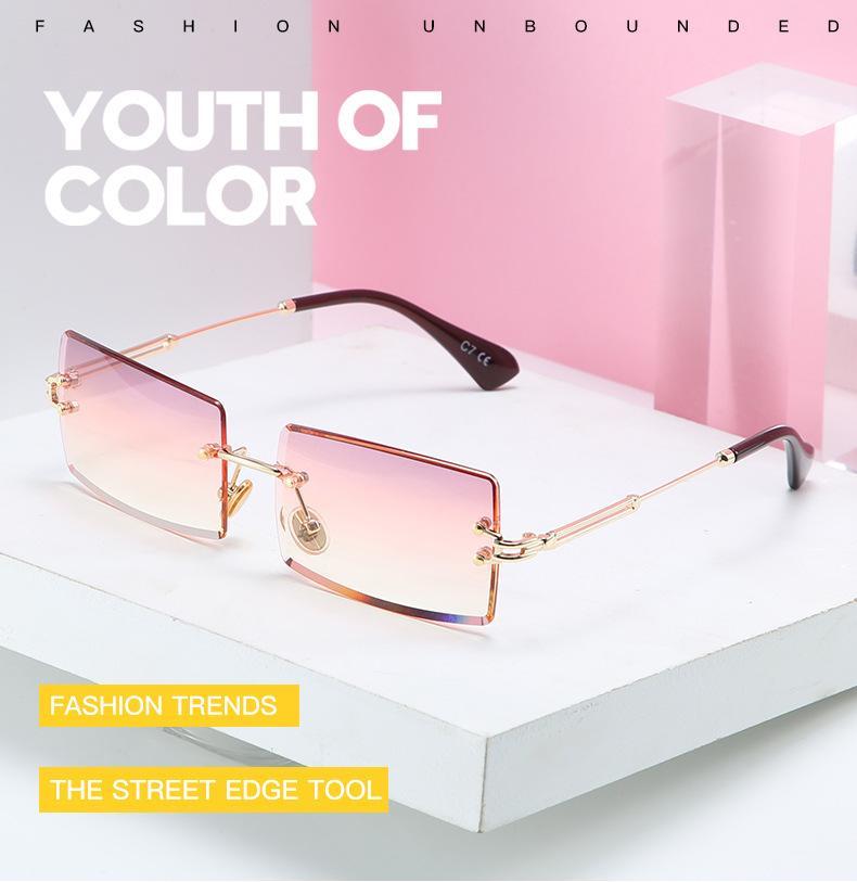 여름 남성 여성 명품 선글라스 여름 남성 여성 선글라스 UV400 8 컬러 옵션 높은 품질