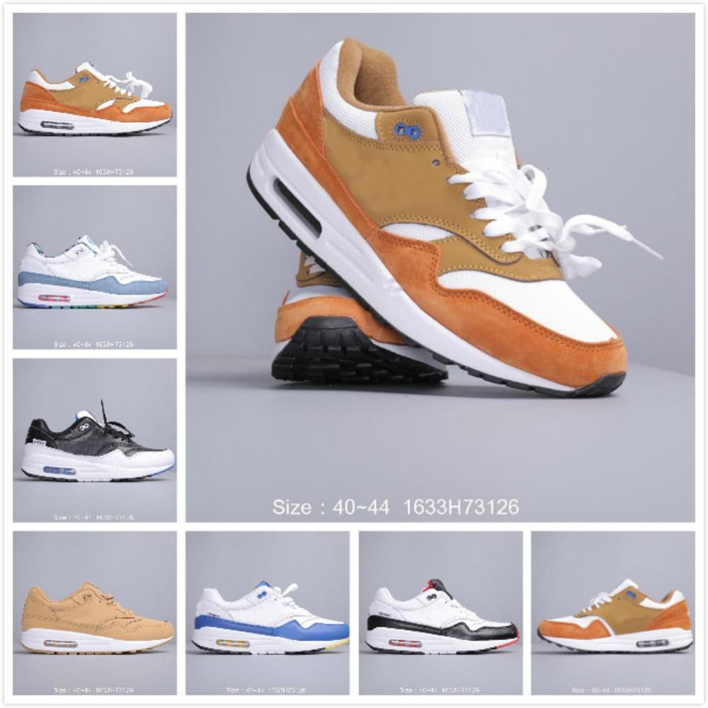 Nova 2019 Mens 1 Se Running Shoes Mens Sports Academia Sneakers Mens designer de moda Trainers Male Sports Chaussures Homem S Outdoor Sapatos