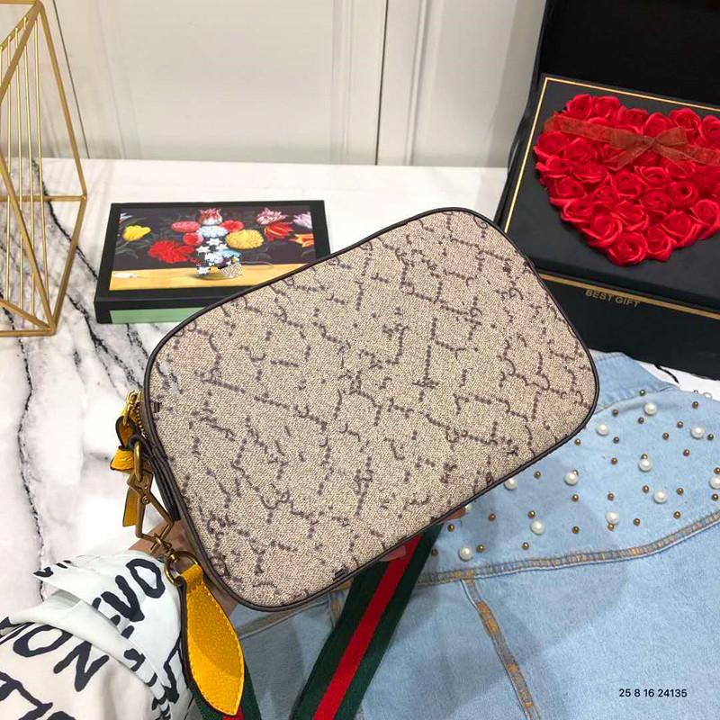 Borse a tracolla Tiger Camera Bag Stripe Larghezza Genuine Leather Handbags Tote la borsa femminile con un sacchetto di spalla Borse