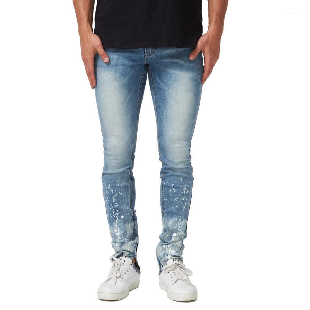 19SS New Jeans Mode Männer Bleistift-Hosen-Mann-Hose Herren Frühling Gewaschene