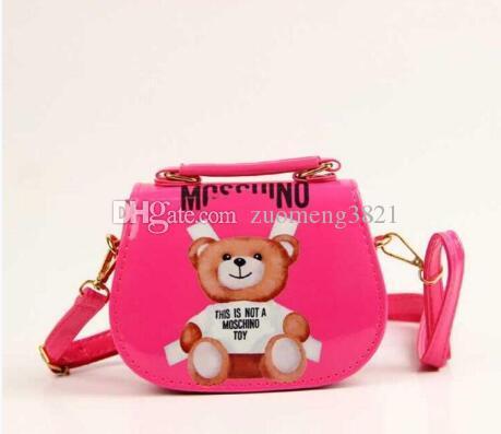 New Kids Girls Mini Shoulder Handbag PU Tassel Messenger Bags Purse Cute Gift