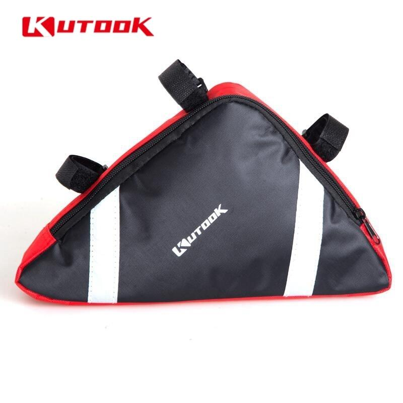 Waterproof Cycling Outdoor Triangle Bicycle Front Tube Frame Bag MTB Bike Pouch