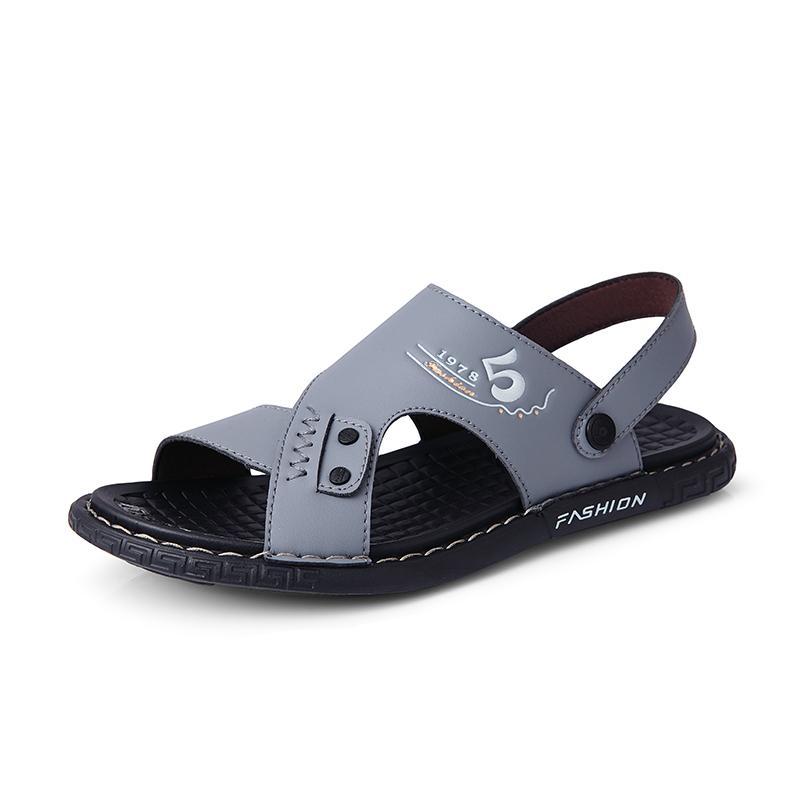 I nuovi sandali di qualità alta estive per gli uomini di moda sandalo pistoni casuali cadute di vibrazione comode Zapatos Hombre Dropshipping