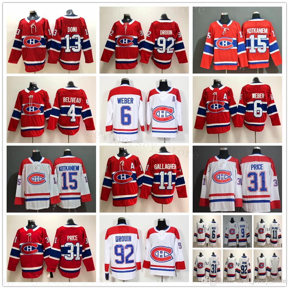 몬트리올 캐나디언 스 아이스 하키 6 시어 웨버 (11 개) 브렌든 갤러거 (13 개) 최대 Domi (15 개) Jesperi Kotkaniemi (31 개) 캐리 가격 92 개 조나단 드루 유니폼