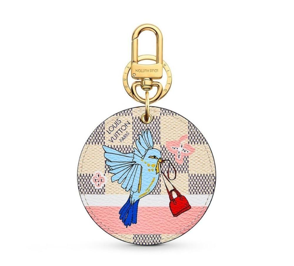 M63751 XMAS ANIMALS ANIMAL BAG AND KEYCHAIN Key Holders and More Leather Bracelets Chromatic Bag Charm and Key Holder Scarves Belts