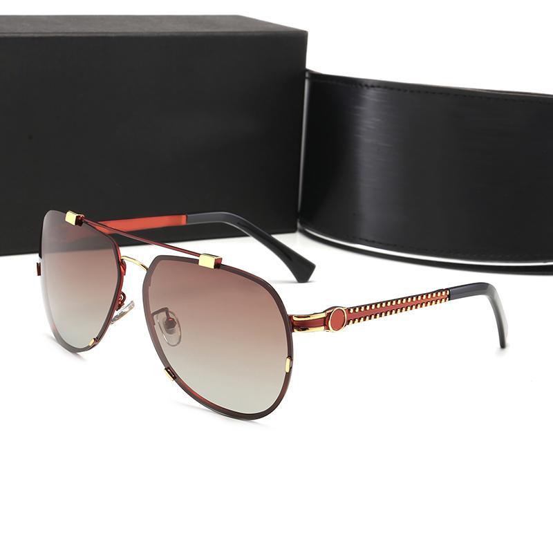 Tasarımcı Güneş Lüks PC Metal Erkekler Kadın Unisex Gözlük UV400 Çerçeveli Yüksek Kalite Stiller 4 Renkler Yeni Popüler Stiller AK3